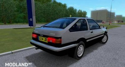 Toyota Corolla Trueno AE86 [1.3], 3 photo